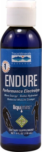 Trace Minerals Research  Endure Performance Electrolyte Perspective: front