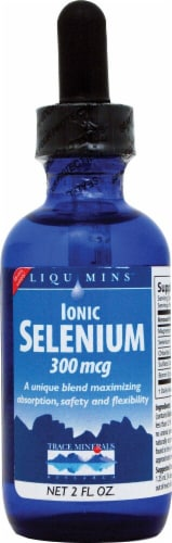 Trace Minerals Research  Ionic Selenium Dietary Supplement Perspective: front