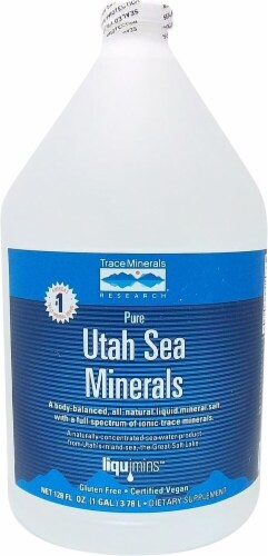 Trace Minerals Research Pure Utah Sea Minerals Perspective: front