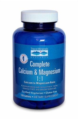 Trace Minerals Research  Complete Calcium and Magnesium Perspective: front