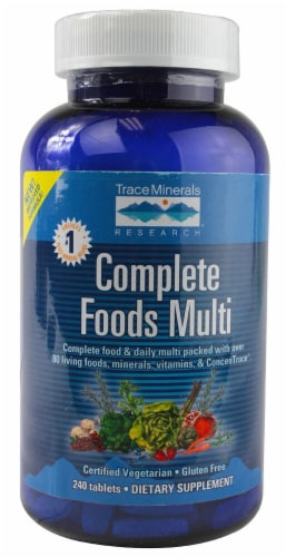 Trace Minerals Research  Complete Foods Multi Perspective: front
