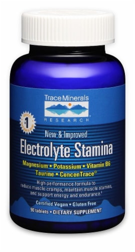 Trace Minerals Research Electrolyte Stamina Dietary Supplement Perspective: front
