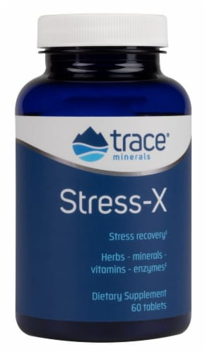 Trace Minerals Research  Stress-X Dietary Supplement Perspective: front