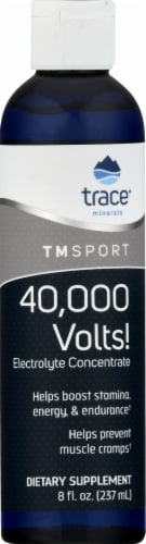 Trace Minerals TM Sport 40000 Volts Electrolyte Concentrate Perspective: front