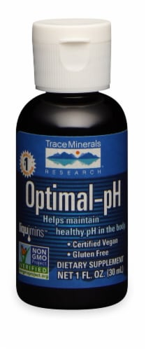 Trace Minerals Research  Optimal-pH Dietary Supplement Perspective: front