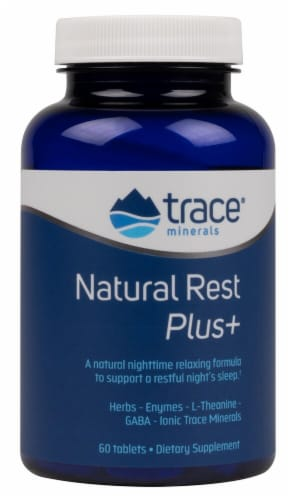 Trace Minerals Research  NaturalRest Plus Perspective: front