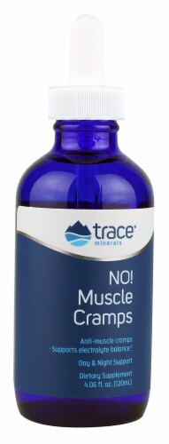 Trace Minerals Research  NO! Muscle Cramps Dietary Supplement Perspective: front