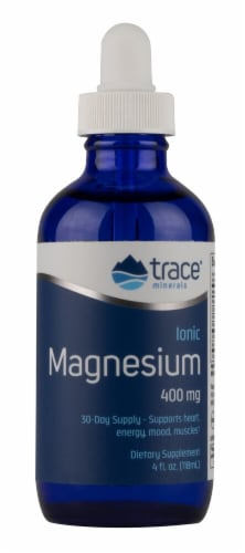 Trace Minerals Research  Ionic Magnesium Dietary Supplement Perspective: front