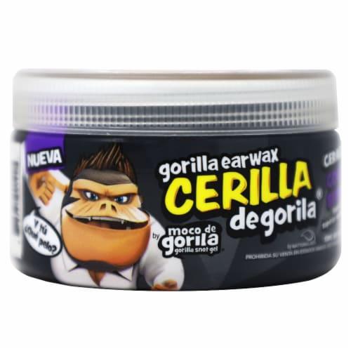 Moco De Gorila Earwax Hair Gel Perspective: front