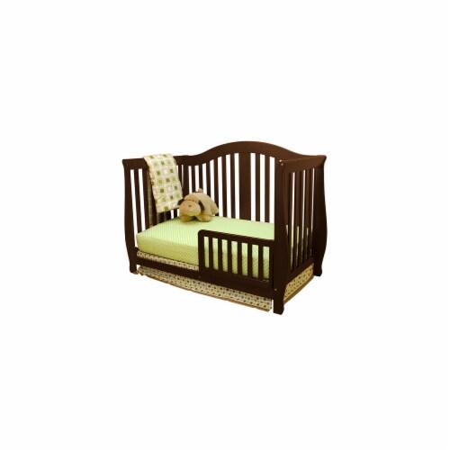 AFG Baby Furniture 309E Athena Desiree  4-in-1 Convertible Crib, Espresso Perspective: front