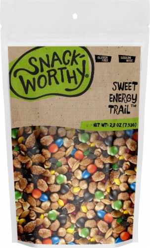 Snackworthy Sweet Energy Trail Trail Mix Perspective: front