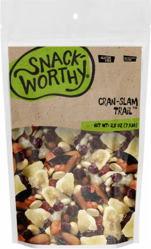 Snackworthy Cran-Slam Trail Trail Mix Perspective: front