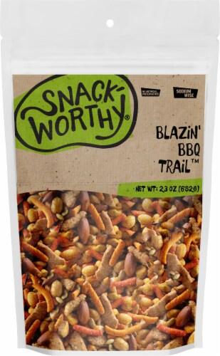 Snackworthy Blazin' BBQ Trail Trail Mix Perspective: front