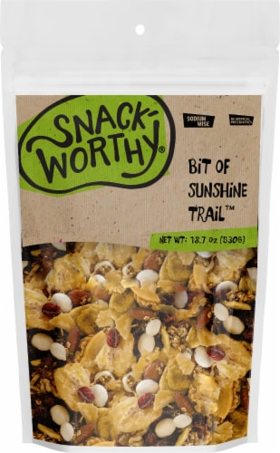Snackworthy Bit of Sunshine Trail Trail Mix Perspective: front