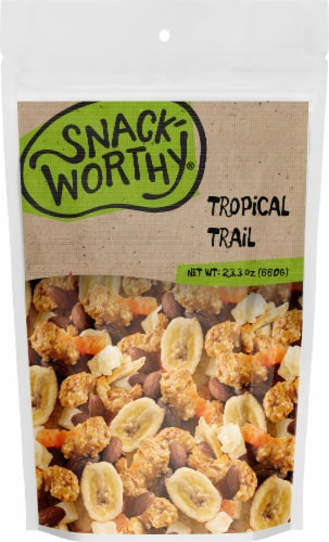 Snackworthy Tropical Trail Trail Mix Perspective: front