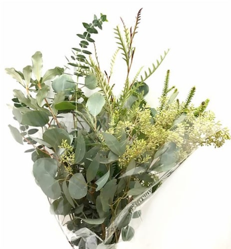 Mixed Greens Bouquet Perspective: front