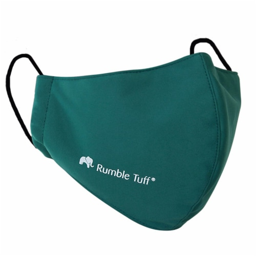 Rumble Tuff Medical Graded Fabric 3 Layers Reusable Facemask Perspective: front