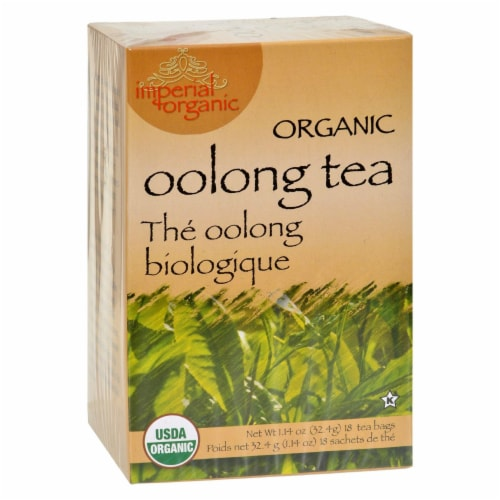 Imperial Organic Oolong Tea Perspective: front