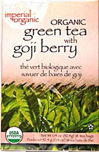 Imperial Organic Gojo Berry Tea Perspective: front