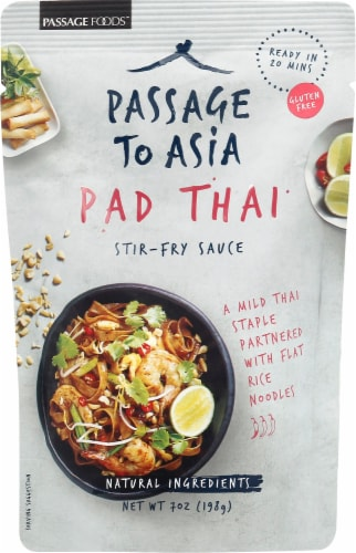 Passage to Asia Pad Thai Stir-Fry Sauce Perspective: front