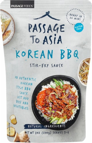 Passage to Asia Korean BBQ Stir-Fry Sauce Perspective: front