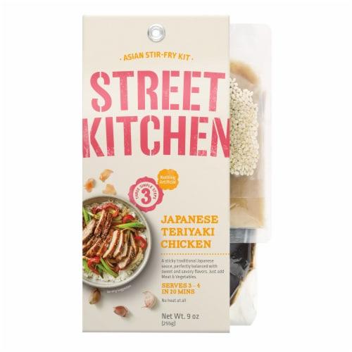 Street Kitchen Japanese Teriyaki Chicken Asian Stir Fry Kit Perspective: front