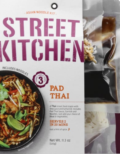 Street Kitchen Pad Thai Asian Noodle Kit Perspective: front