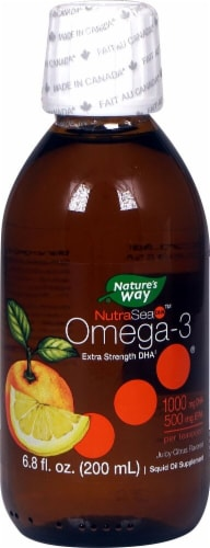 Ascenta  NutraSea™ DHA   Citrus Perspective: front