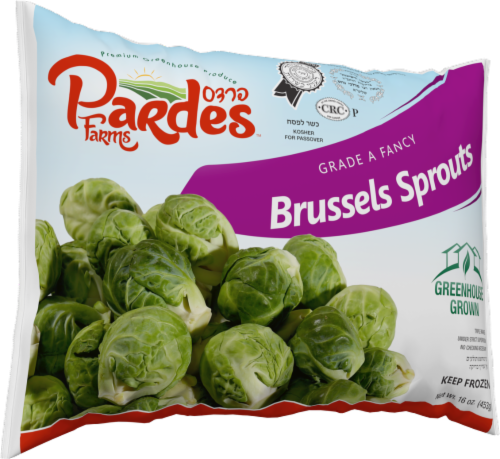 Pardes Farms Grade A Brussels Sprouts Perspective: front