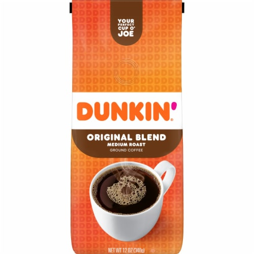 Dunkin' Donuts Original Blend Medium Roast Ground Coffee Perspective: front