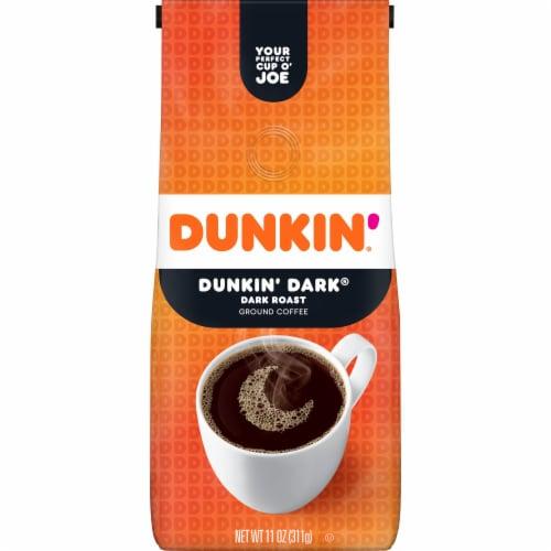 Dunkin' Donuts Dunkin' Dark Ground Coffee Perspective: front