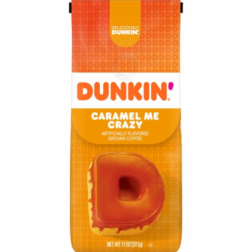 Dunkin' Donuts Bakery Series Caramel Coffee Cake Ground Coffee Perspective: front