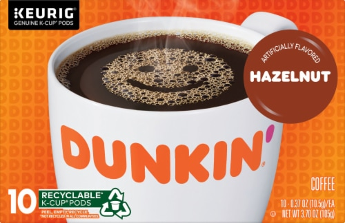 Dunkin' Donuts Hazelnut K-Cup Pods Perspective: front