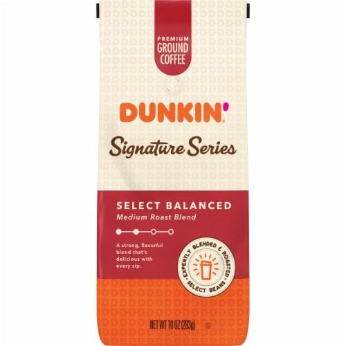 Dunkin' Signature Series Balanced Blend Medium Roast Ground Coffee Perspective: front