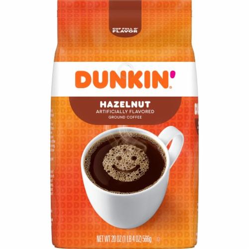 Dunkin' Hazelnut Ground Coffee Perspective: front