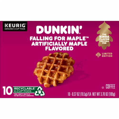 Dunkin' Falling for Maple K-Cup Perspective: front