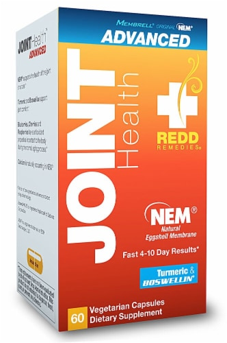 Redd Remedies  Joint Health and Turmeric & Boswellia Dietary Supplements Perspective: front