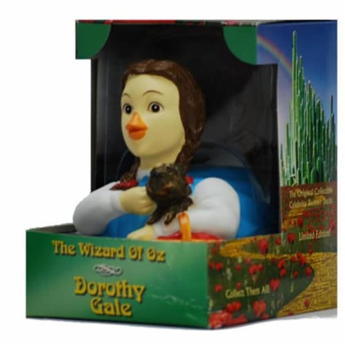 CelebriDucks 81007 Dorothy from Wizard of Oz Rubber Duck Perspective: front