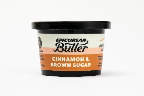 Epicurean Butter Cinnamon Brown Sugar Butter Spread Perspective: front