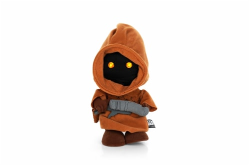 "Stuffed Star Wars Plush Toy - 9"" Talking Jawa Doll Perspective: front"