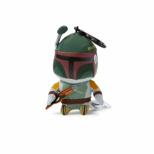 Star Wars Mini Talking Plush Toy Clip On - Boba Fett Perspective: front