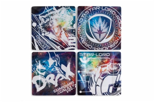 """Guardians of the Galaxy Vol. 2 4-Pack 8"""" Plastic Plates Perspective: front"""