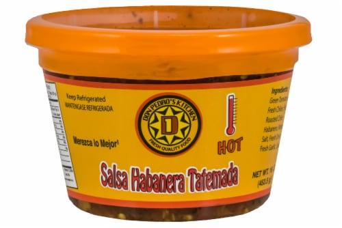 Don Pedros Habanero Tatemada Salsa Perspective: front