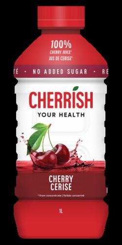 CHERRiSH Original Tart Cherry Juice Perspective: front