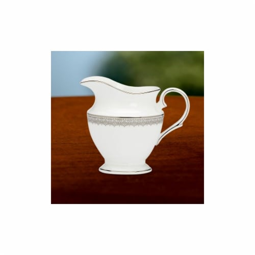 Lenox Lace Couture Creamer Perspective: front