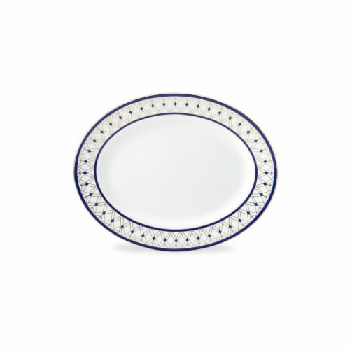 Lenox 13 in. Royal Grandeur Oval Platter Perspective: front