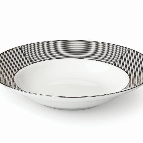 Lenox 868883 Brian Gluckstein Winston Dinnerware Pasta & Soup Bowl, 12 oz Perspective: front