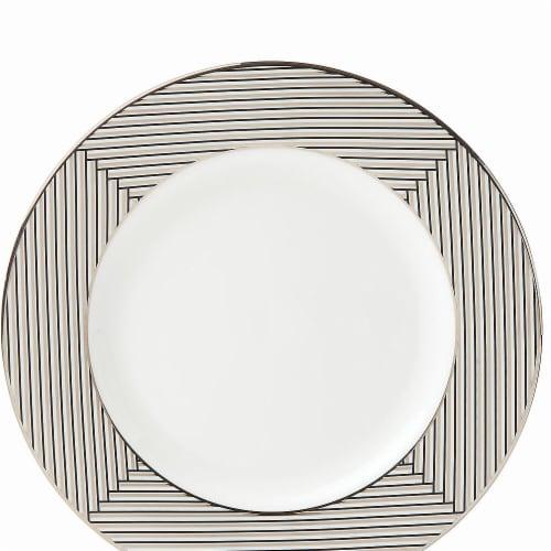Lenox Brian Gluckstein Winston Dinnerware Salad Plate, 8 dia. Perspective: front