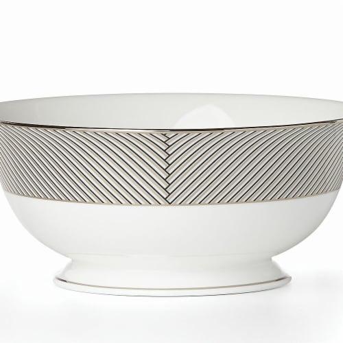 Lenox 868887 Brian Gluckstein Winston Dinnerware Serving Bowl, 56 oz Perspective: front