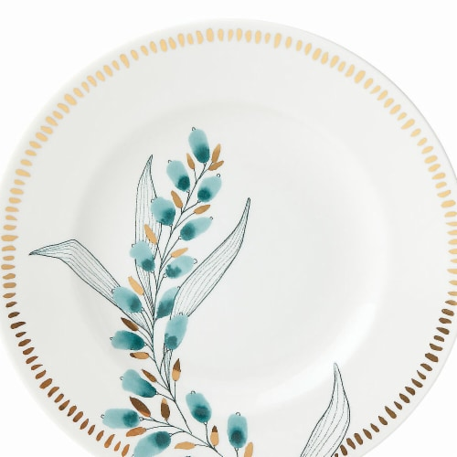 Lenox Goldenrod Dinnerware Accent & Salad Plate, 9.38 dia. Perspective: front